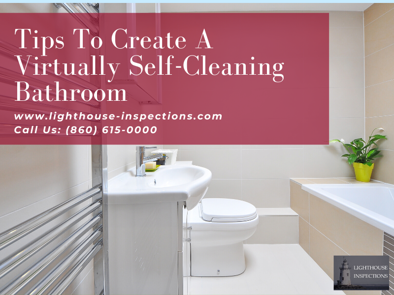 self cleaning bathrooms
